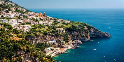 Praiano, Amalfikysten, Italien