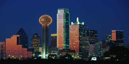 Downtown Dallas Texas United States Of America
