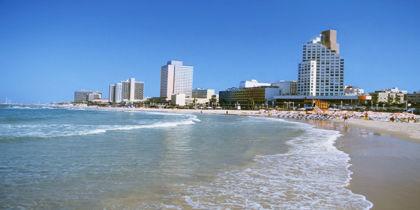 Plages de Tel Aviv, Tel Aviv, Israël