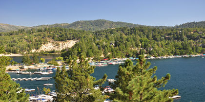 Lake Arrowhead, Big Bear Lake, California, United States of America