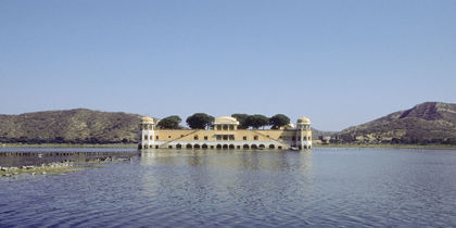 Mansagar Lake, Jaipur, India