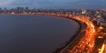 Marine Drive - Nariman Point, Mumbai, Indien