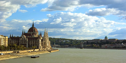 Castle Hill, Budapest, Ungarn