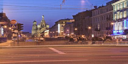 Nevskij Prospekt, St. Petersburg, Russland