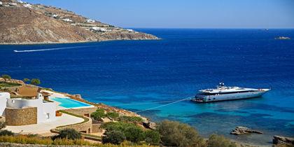 Ornos, Ilha de Míconos, Grécia