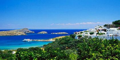 Lindos, Rodos Adası, Yunanistan