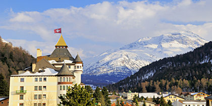 Pontresina, Graubuenden, Switzerland