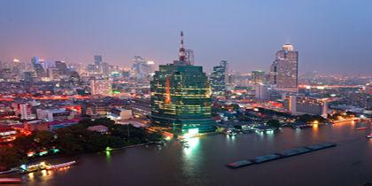 Silom, Bangkok, Thaimaa