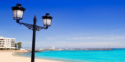 Santa Eulària des Riu, Ibiza, Spanien