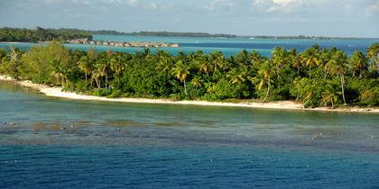 Motu Tevairoa, Bora Bora, French Polynesia