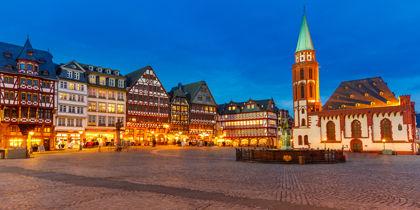 Vieille ville, Francfort-sur-le-Main, Allemagne
