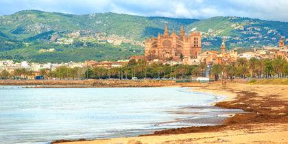 Playa de Palma, Mallorca, Spanien