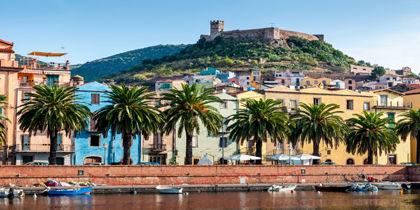 Bosa, Alghero - Nordlige Sardinien, Italien