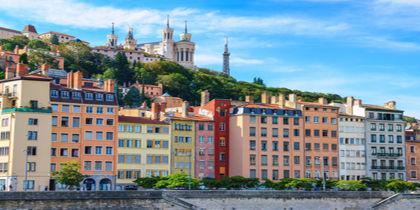 Vieux Lyon, Lyon, Frankreich