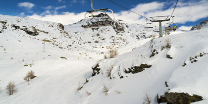 Monterosa, Valle d'Aosta, Italy