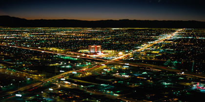 West of The Strip, Las Vegas, Nevada, United States of America