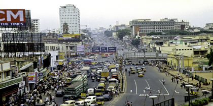 Anna Salai (Mounts Road), Chennai, India