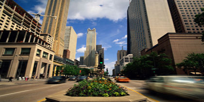 Magnificent Mile, Chicago, Illinois, United States of America
