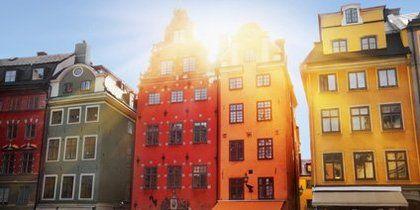 瑞典斯德哥爾摩老城區
