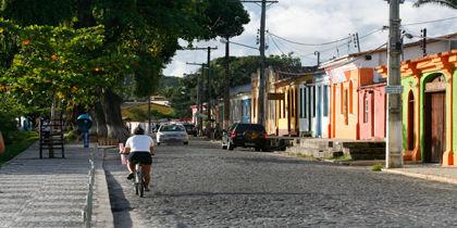 Downtown Porto Seguro, Porto Seguro, Brazil