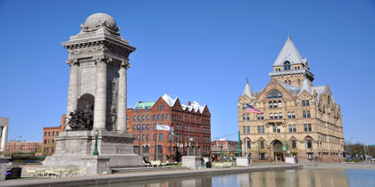 Downtown Syracuse, Syracuse, New York, United States of America