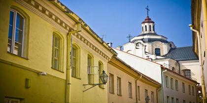 Historiska stadskärnan, Vilnius, Litauen
