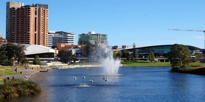 Adelaide CBD, Adelaide, South Australia, Australia