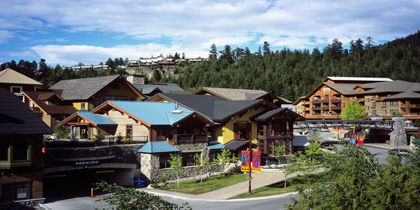 Whistler Creekside, Whistler Ski Area, British Columbia, Canada