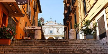 Via Veneto, โรม, อิตาลี