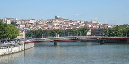 La Croix-Rousse, Lyon, Frankreich