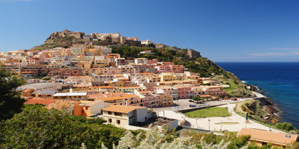 Castelsardo, Alghero - Nordlige Sardinien, Italien