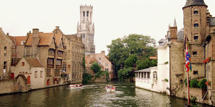 Centre de Bruges, Bruges, Belgique