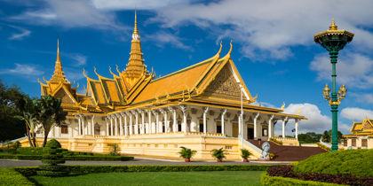 Centre-ville de Phnom Penh, Phnom Penh, Cambodge