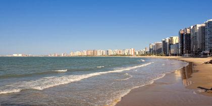 Playa Meireles, Fortaleza, Brasil