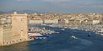Vieux-Port, Marseille, Frankreich