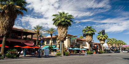 Downtown Palm Springs, Palm Springs, California, United States of America
