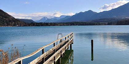Ossiacher Lake, Central Carinthia, Austria