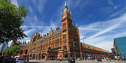 Kings Cross St. Pancras, London, Großbritannien