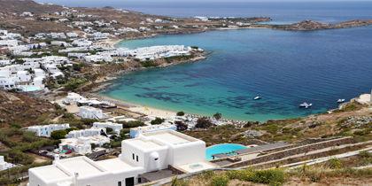 Psarou, Mykonos Island, Greece
