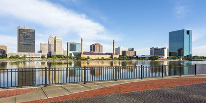 Downtown Toledo Ohio United States Of America
