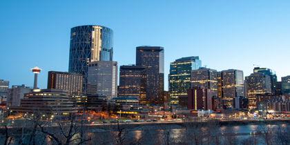 Downtown Calgary, Calgary, Alberta, Canada