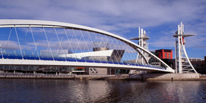 Salford Quays, Manchester, Royaume-Uni
