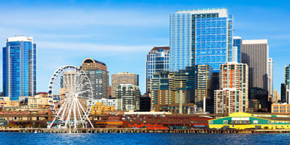 Downtown Seattle King County United States Of America
