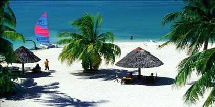 Badian Island, Cebu Island, Philippines