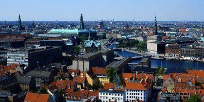 Stadtzentrum von Kopenhagen, Kopenhagen, Dänemark