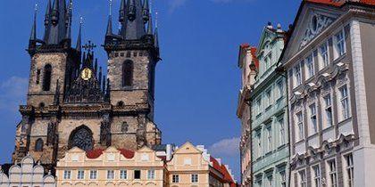 旧市街 (オール ドタウン), プラハ, チェコ