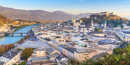 Stadtzentrum Salzburg, Salzburg, Österreich