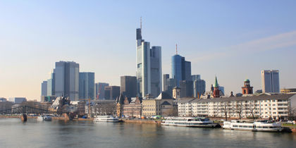 Financial District, Frankfurt, Germany