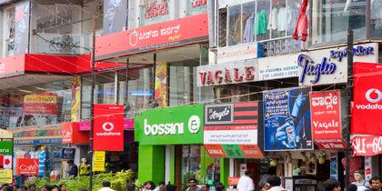 M.G. Road, Bengaluru (Bangalore), India