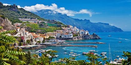 Amalfi, Amalfikysten, Italien
